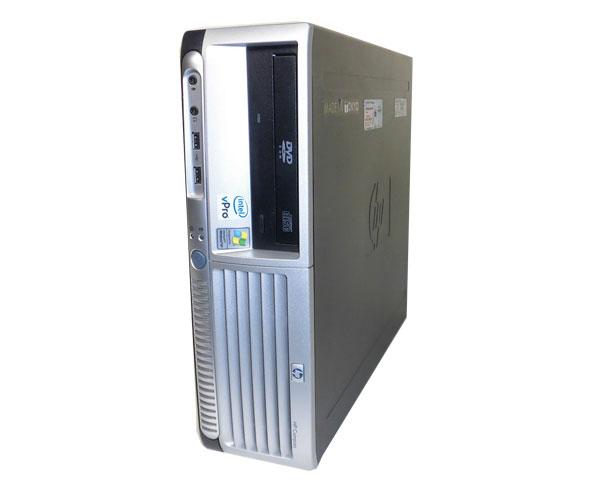 WinXP HP dc7700 SFF (ET090AV)【中古】Core2Duo E6300 1.86GHz/1GB/80GB/DVD-ROM