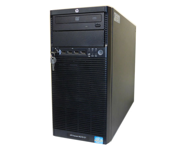 HP ProLiant ML110 G7 647337-B21【中古】Xeon E3-1220 3.1GHz/2GB/450GB×2