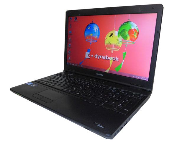 Windows7 リカバリー内蔵 東芝 dynabook Satellite B551/C (PB551CBBN77A51) 第2世代 Core i5-2520M 2.5GHz 4GB 250GB DVD-ROM テンキー 無線LAN 中古ノートパソコン 中古PC ノート