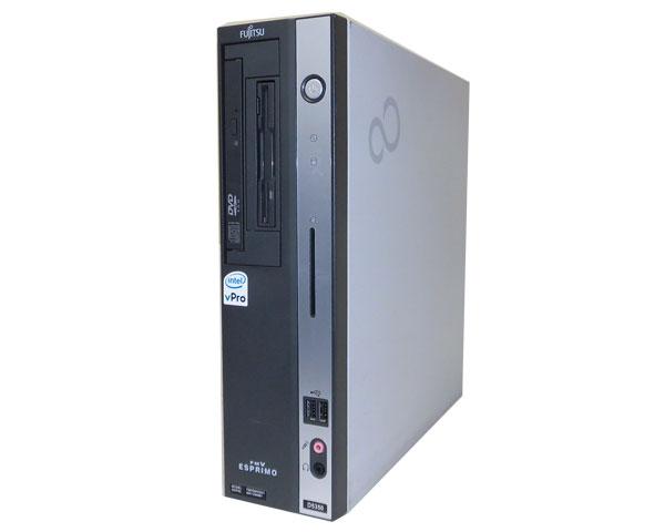 WindowsXP 中古パソコン デスクトップ 本体のみ 富士通 ESPRIMO FMV-D5350 (FMVD94G011) Core2Duo E6850 3.0GHz/2GB/250GB/CD-ROM