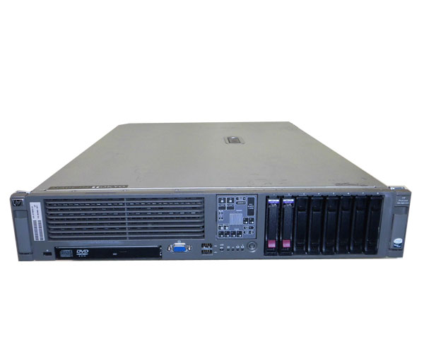 HP ProLiant DL380 G5 435527-291【中古】Xeon E5310 1.6GHz/1GB/72GB×2/AC×2