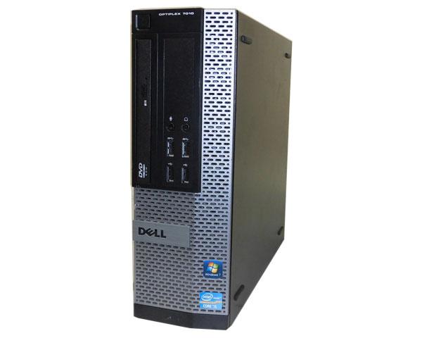Windows10 Pro 64bit DELL OPTIPLEX 7010 SFF Core i5-3470 3.2GHz/4GB/250GB/DVD-ROM/中古パソコン/デスクトップ/本体のみ