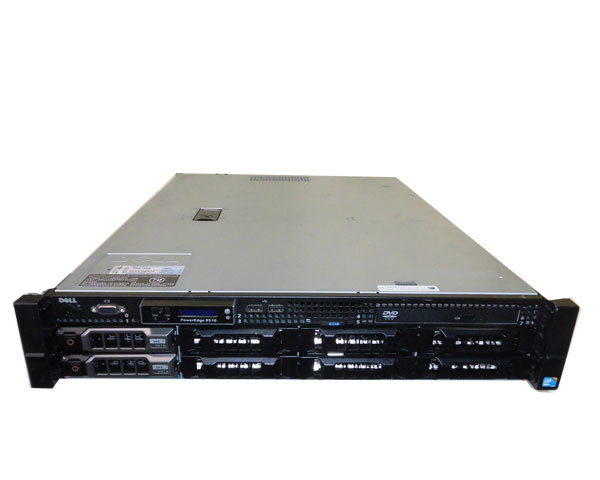 DELL PowerEdge R510 中古 Xeon 8GB E5620 公式 至高 2.4GHz HDDなし