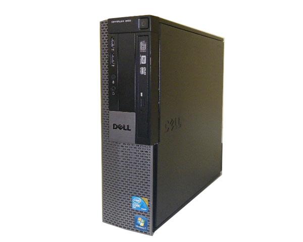 未使用品 Windows7 DELL OPTIPLEX 960 SFFCore2Duo E8600 マルチ中古パソコン 省スペース型 3.33GHz 500GB 4GB デスクトップPC 全国どこでも送料無料