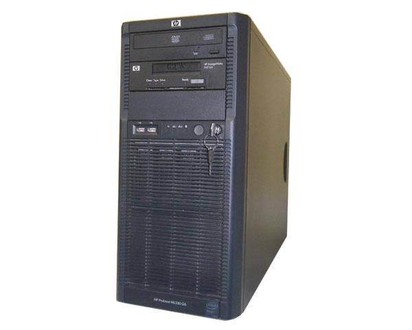 HP ProLiant ML330 G6 600910-291 中古 Xeon E5507 2.26GHz 4GB 300GB×1 (SAS 3.5インチ) DVD-ROM Smartアレイ P410