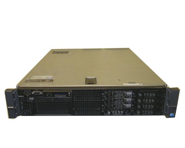 DELL PowerEdge R710 (2.5インチモデル)【中古】Xeon E5607 2.26GHz×2/12GB/HDDなし