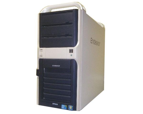 EPSON Endeavor AY330s デュアルコア � Windows8.1 Pro 64Bit 省スペース 【Celeron G1820/8GB/500GB/MULTI】 シンプルデザイン デスクトップ 【中古】 大容量8GBメモリ搭載! 中古パソコン Office�き
