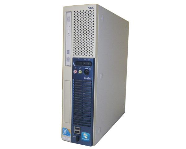 外観難あり Windows7 Pro 32bit NEC Mate MK32ME-B Corei5 650 3.2GHz 2GB 160GB DVDマルチ 中古パソコン デスクトップ