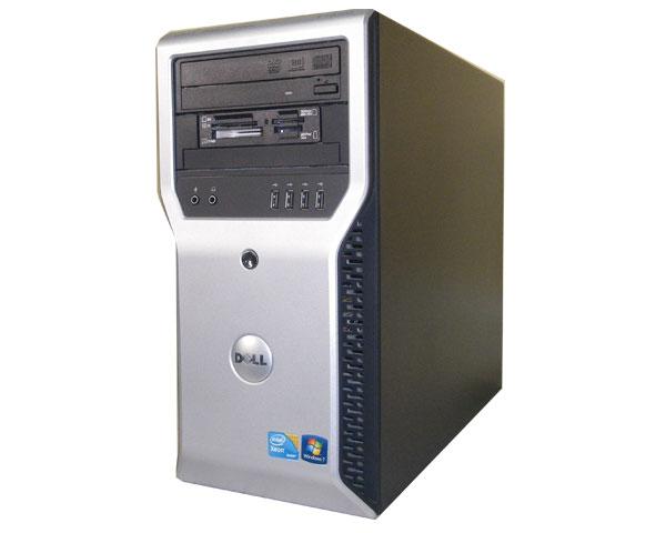 Windows7 Pro 32bit DELL PRECISION T1600 中古ワークステーション Xeon E3-1245 3.3GHz 4GB 250GB Quadro600