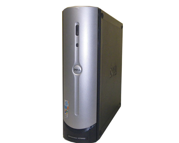 WindowsXP DELL Dimension 4700C【中古】Pentium4-2.8GHz/2GB/160GB/DVDコンボ【中古パソコン/中古デスクトップPC】