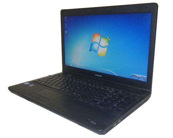 東芝 dynabook Satellite B552/F(PB552FEB127A51) Windows7 Pro 32bit 15.6インチ 中古ノートパソコン 無線LAN テンキー Core i5-3210M 2.5GHz 4GB 320GB DVD-ROM WPS Office付き