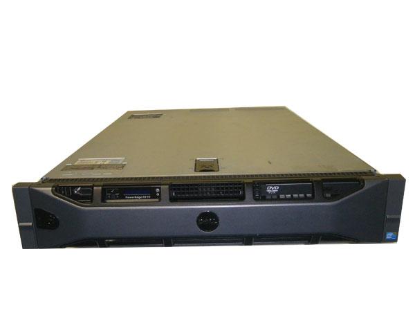DELL PowerEdge R710 (3.5インチモデル)【中古】Xeon E5620 2.4GHz×2/8GB/146GB×1(PREC 6/i)
