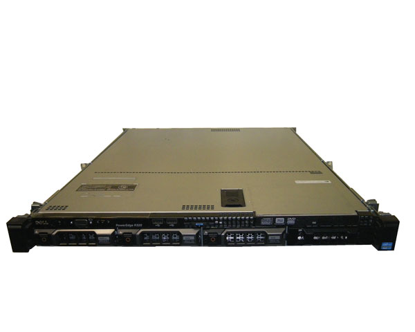 DELL PowerEdge R320 レール付き【中古】Xeon E5-1410 2.8GHz/16GB/300GB×3/RAID