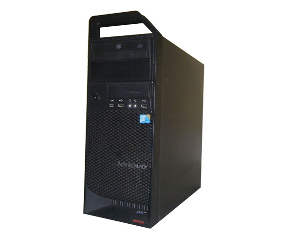 Vista Lenovo ThinkStation S10 6423-RZ3【中古】Core2Duo E8400 3.0GHz/4GB/250GB/FX1700