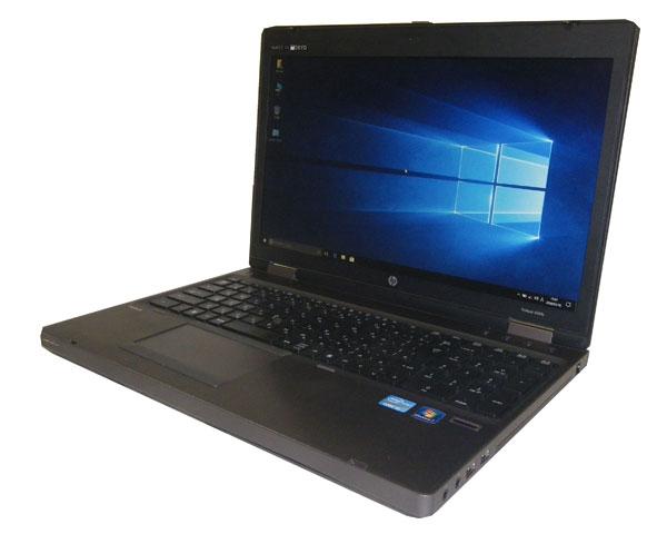 Windows10 Pro 64bit HP ProBook 6560b テンキー 第2世代 Core i3-2310M 2.1GHz 4GB SSD 128GB 光学ドライブなし 中古ノートパソコン