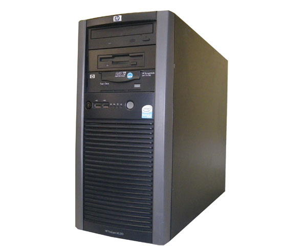HP ProLiant ML310 G3 390644-291【中古】PentiumD-3.0GHz/2GB/80GB×2