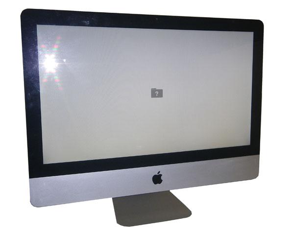 OSなし Apple iMac A1311 21.5インチ【中古】Core i3-550 3.2GHz/4GB/1TB/マルチ/無線LAN
