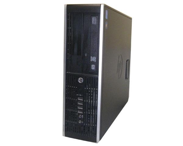 中古パソコン デスクトップ Windows7 Pro-64bit HP Compaq Elite 8300 SFF (QV996AV) Core i5-3470 3.2GHz 8GB 500GB DVDマルチ 本体のみ ビジネスPC