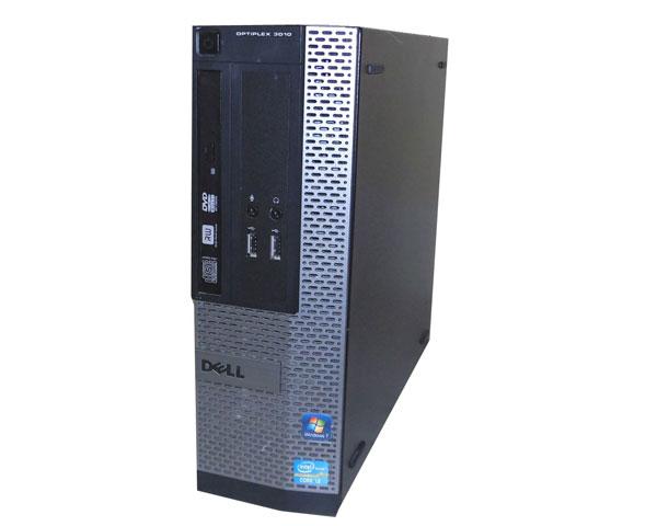 中古パソコン デスクトップ デル Windows7 DELL OPTIPLEX 3010 SFF 省スペース Core i3-3220 3.33GHz/4GB/250GB/DVDマルチ