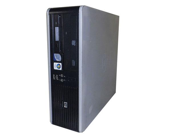 外観難あり WindowsXP 中古パソコン デスクトップ 本体のみ HP dc7900 SFF(KP721AV) Core2Duo E8400 3.0Hz/1GB/80GB/DVD-ROM