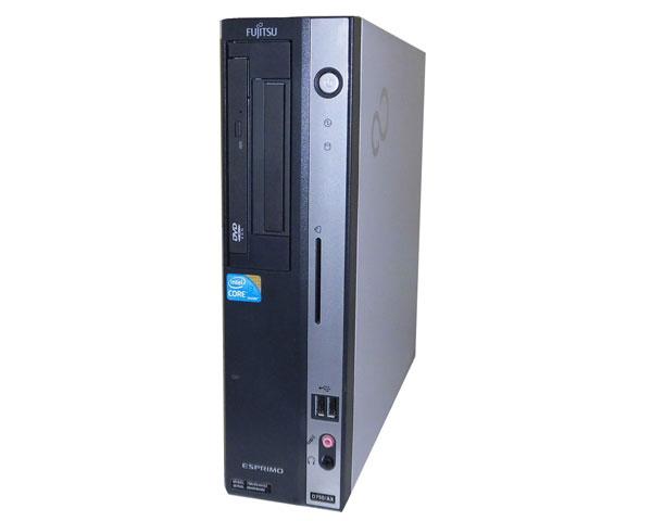 中古パソコン デスクトップ 本体のみ ビジネスPC 省スペース型 Windows7 富士通 ESPRIMO D750/AX (FMVXD4IH2Z) Core i3 550 3.2GHz メモリ2GB HDD160GB DVD-ROM