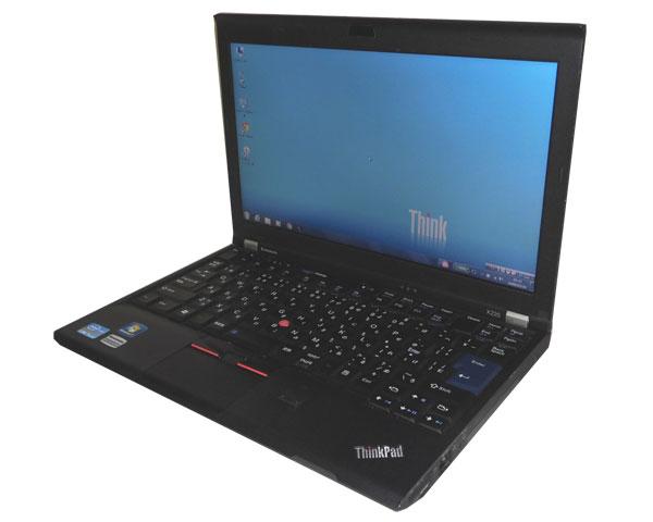 中古ノートパソコン Windows7 リカバリー(DtoD) Lenovo Thinkpad X220 4290-KV2 Corei5 2540M 2.6GHz メモリ4GB HDD320GB 無線LAN 軽量 12.5インチ WPS Office付き