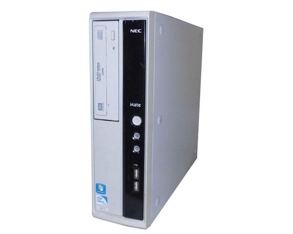 OSなし NEC MATE MK18EL-E (PC-MK18ELZCE) Celeron G460 1.8GHz 2GB 250GB DVDマルチ 中古パソコン デスクトップ