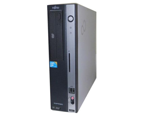 中古パソコン デスクトップ 本体のみ Windows7 Pro 32bit 富士通 ESPRIMO D750/A (FMVDE4T0E1) Corei5 650 3.2GHz 2GB 160GB DVD-ROM