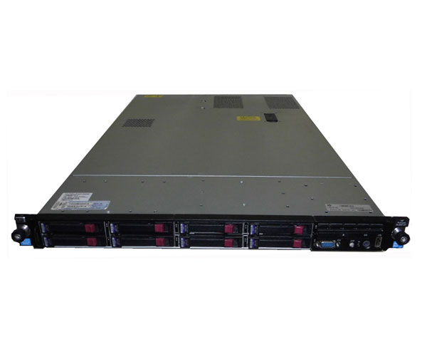 HP ProLiant DL360 G7 633776-291【中古】Xeon 6core E5649 2.53GHz×2/28GB/146GB×2