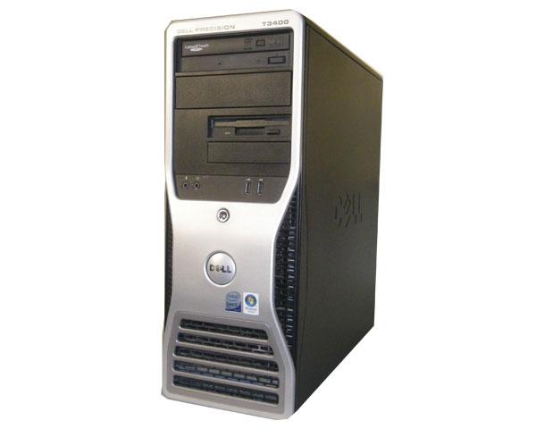 中古ワークステーション WindowsXP DELL PRECISION T3400 Core2Duo E8200 2.66GHz/4GB/160GB/NVS290