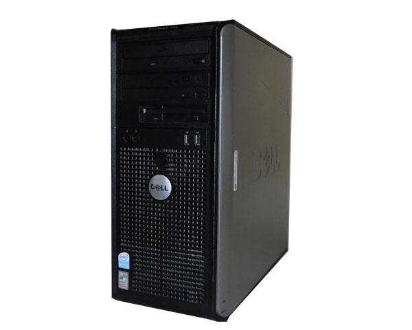 中古パソコン デスクトップ ミニタワー WindowsXP DELL OPTIPLEX 745MT PentiumD-2.8GHz/2GB/160GB/DVDマルチ