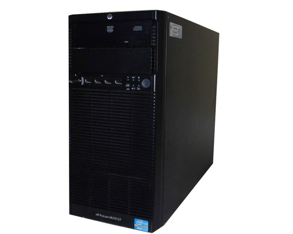 HP ProLiant ML110 G7 647338-B21【中古】Xeon E3-1220 3.1GHz/4GB/146GB×2/RAID