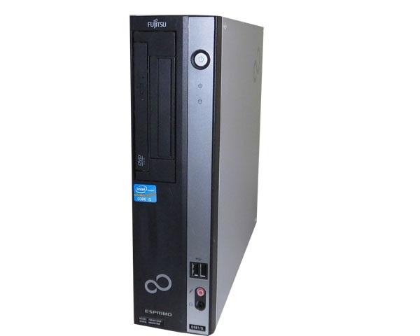 中古パソコン デスクトップ 本体のみ Windows7 富士通 ESPRIMO D581/D(FMVDH3A0E1) Core i5 2400 3.1GHz メモリ2GB HDD250GB DVD-ROM