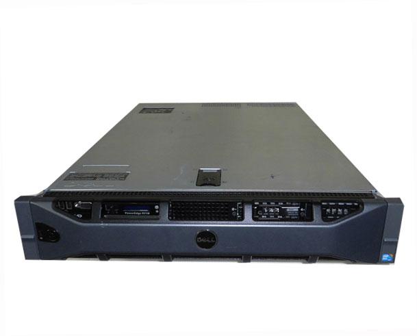 DELL PowerEdge R710 (2.5インチモデル)【中古】Xeon X5570 2.93GHz×2/24GB/146GB×3 (PREC 6/i)