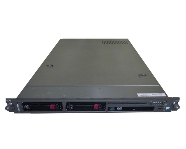 HP ProLiant DL140 G3 417749-291【中古】Xeon E5345 2.33GHz/4GB/250GB×2