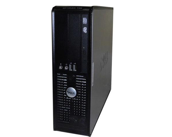 WinXP DELL OPTIPLEX 745 SFF 【中古】Core2Duo 6400 2.13GHz/2GB/160GB/DVDコンボ