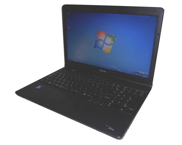 Windows7 中古ノートパソコン 東芝 dynabook Satellite B451/E Celeron B815 1.6GHz/2GB/250GB/MULTI/WPS Office付き(旧KINGSOFT Office)