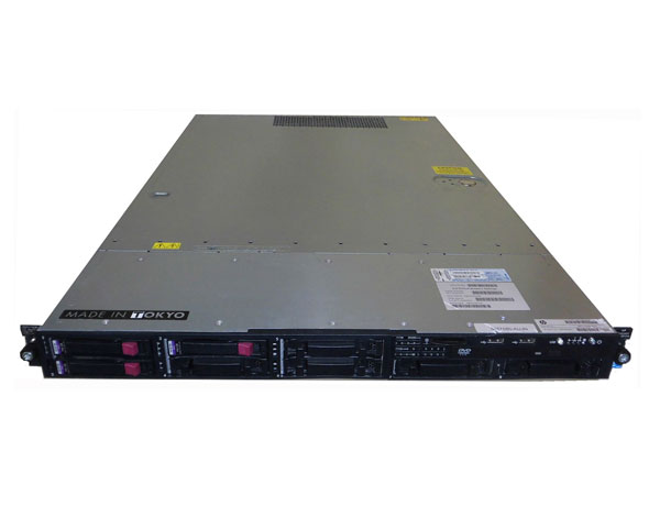 HP ProLiant DL320 G6 505768-B21 2.5インチモデル【中古】Xeon E5620 2.4GHz/4GB/73GB×2