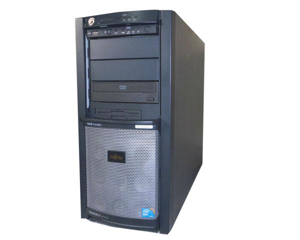 富士通 PRIMERGY TX150 S6 PGT1568G3【中古】Xeon X3360 2.83GHz/4GB/73GB×2
