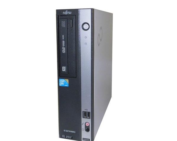 Windows7 富士通 ESPRIMO D550/B (FMVDF2A0E1) Core2Duo E7500 2.93GHz 2GB 160GB DVDマルチ 中古パソコン デスクトップ