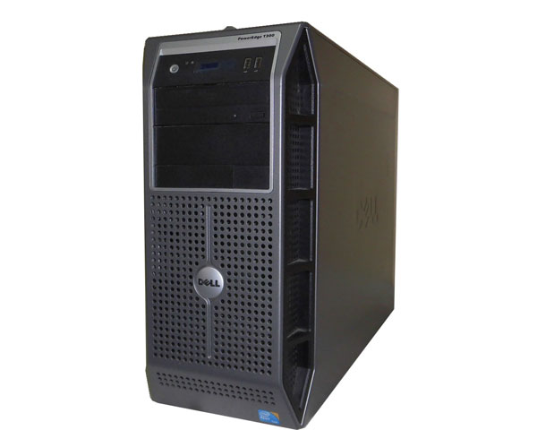 DELL PowerEdge T300 中古サーバー Xeon-E3113 3.0GHz/4GB/750GB×3/AC*2