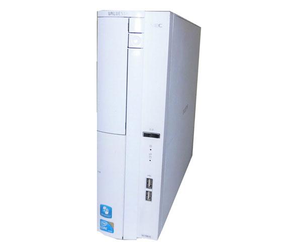 OSなし 中古パソコン デスクトップ NEC VALUESTAR VL150/C (PC-VL150CS) Core i3-550 3.2GHz/2GB/500GB/DVDマルチ