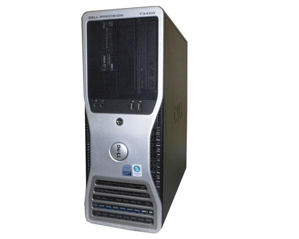 DELL PRECISION T3400 WindowsXP 中古ワークステーション Core2Duo E8400 3.0GHz/2GB/80GB/NVS290