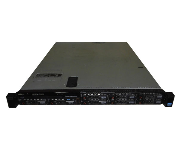 【限定製作】 DELL PowerEdge R420【】Xeon E5-2440 2.4GHz×2/24GB/146GB×3, 加古郡 a9b6c3f9