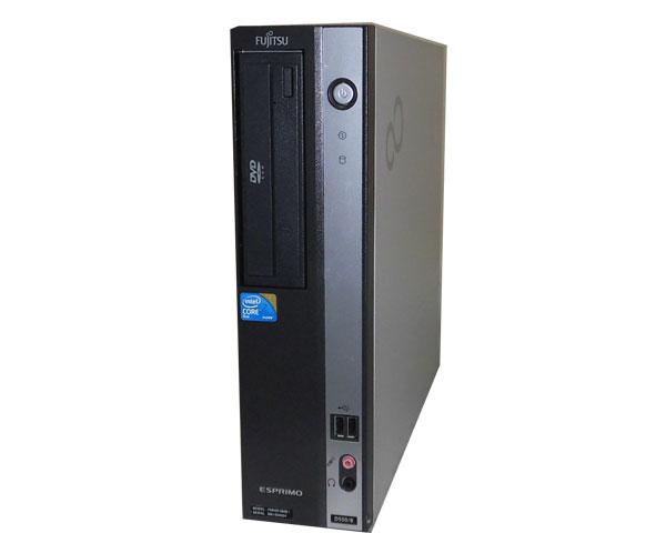外観難あり Windows7 Pro 32bit 富士通 ESPRIMO D550/B(FMVDF2A0E1) Core2Duo-E7500 2.93GHz 4GB 160GB DVD-ROM 中古パソコン デスクトップ ビジネスPC 省スペース型 本体のみ