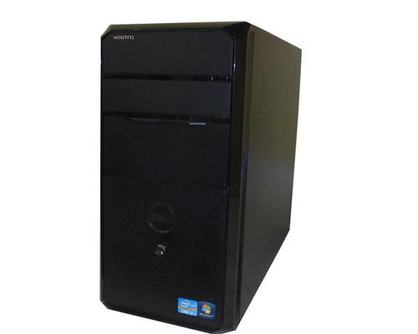 中古パソコン 第2世代 Core i7搭載 クアッドコア ミニタワー Windows7 Pro-64bit デスクトップ DELL デル Vostro 460 Core i7 2600 3.4GHz/4GB/1TB/DVDマルチ