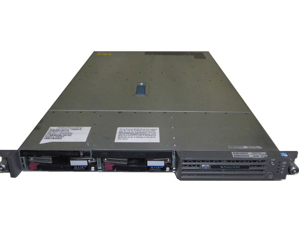 HP ProLiant DL360 G3 292889-291【中古】Xeon 2.8GHz/2.5GB/36GB×2