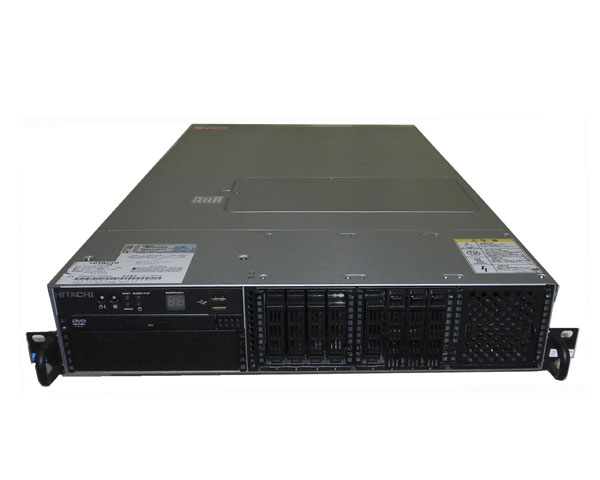 HITACHI HA8000/RS220 AL (GQW220AL-T6NNKN2)【中古】Xeon X5675 3.06GHz×2/64GB/146GB×3