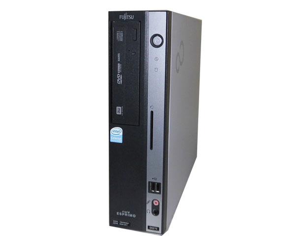 WindowsXP 富士通 FMV-D5270 (FMVDB2A041) Celeron E1400 2.0Ghz/4GB/80GB/DVDマルチ/中古パソコン/デスクトップ/本体のみ