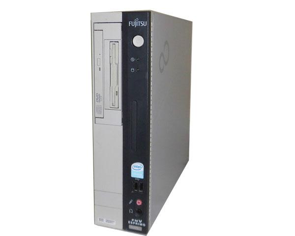 中古パソコン WindowsXP 富士通 FMV-D5215 (FMVDA2C011) CeleronD-2.66GHz/1GB/40GB/DVDコンボ